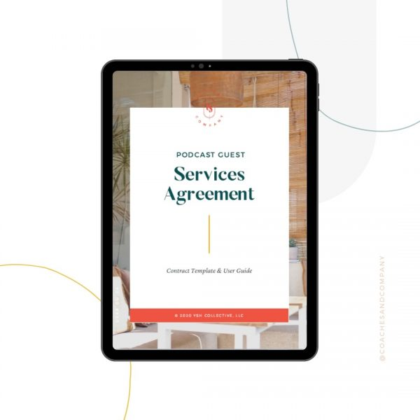 Podcast Guest Agreement Template - Coaches and Company