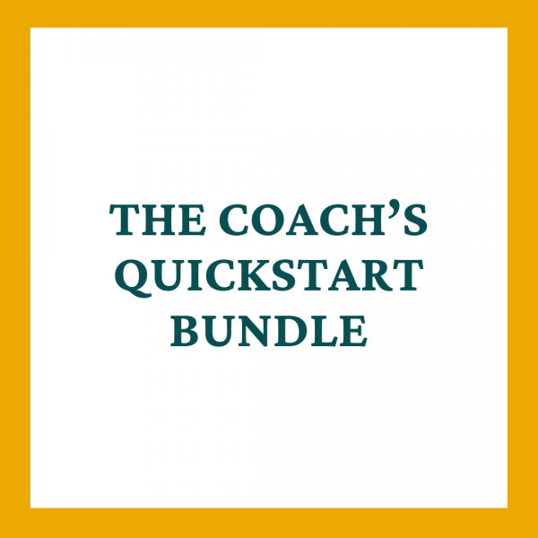 The Coach's QuickStart Bundle Contract Template - Coaches and Company