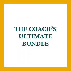 The Coach's Ultimate Bundle Contract Template - Coaches and Company