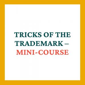 Tricks of Trademark Mini-course - Coaches and Company