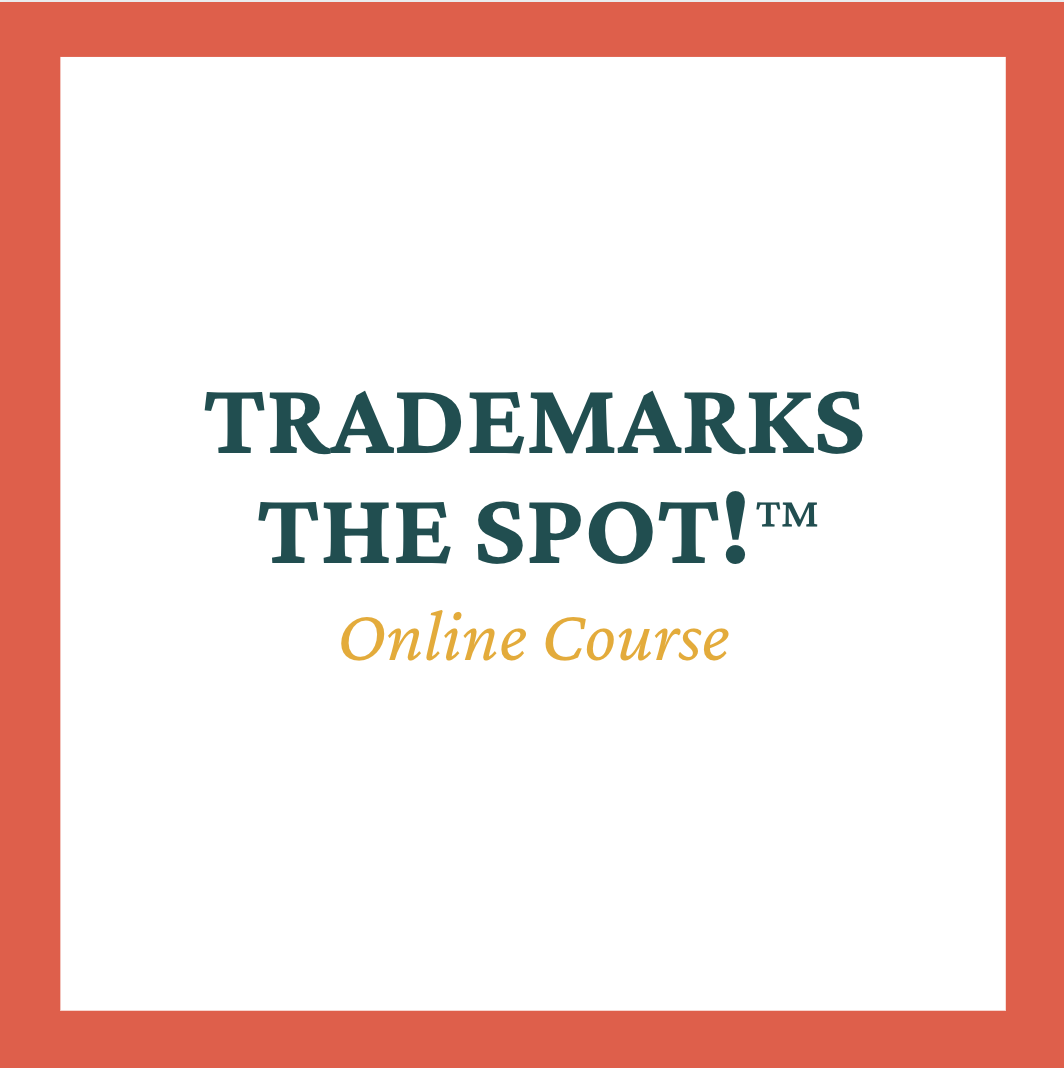 Trademarks the Spot!™ – Online Course