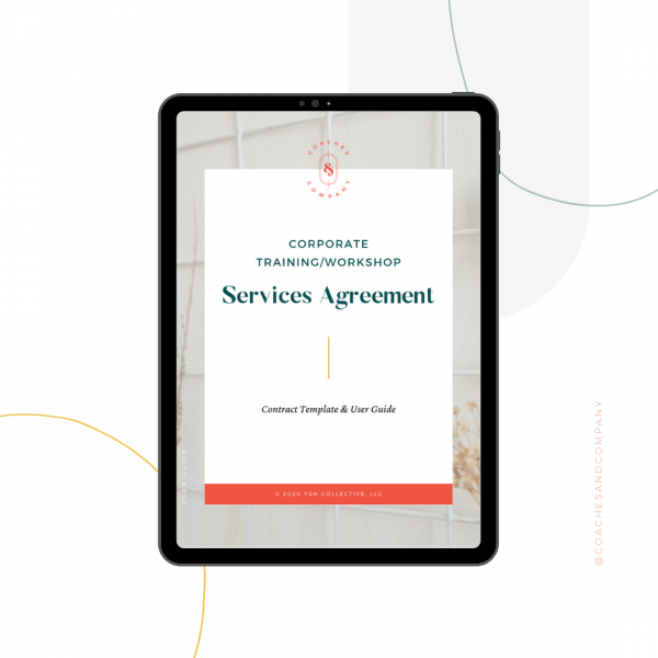 corporate training contract